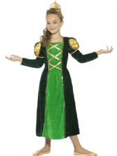 Childs Medieval Princess Costume